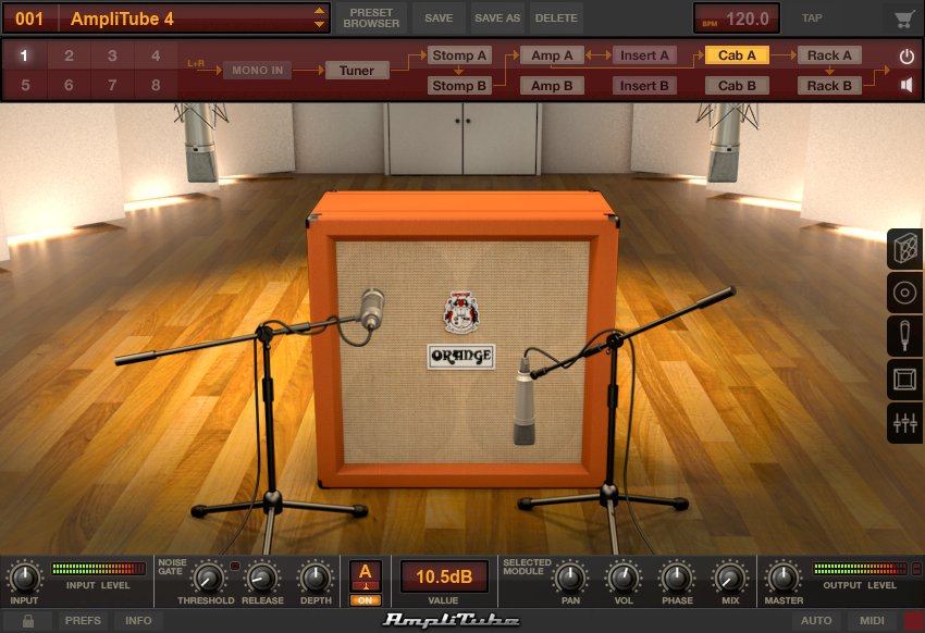 IK Multimedia Amplitube 4 - 01