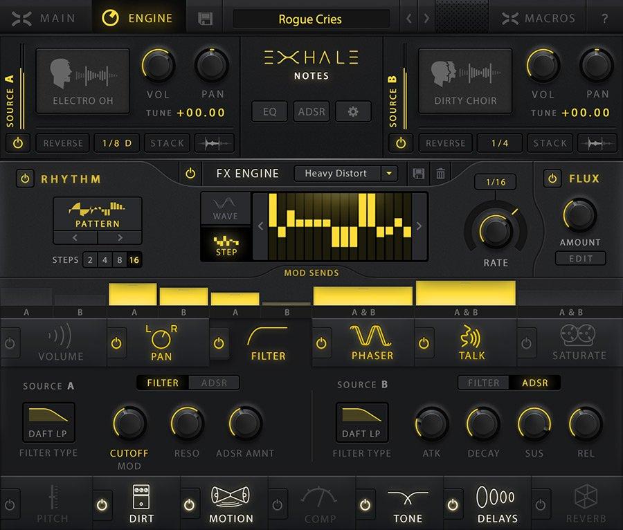 Output Exhale - Le voci per le produzioni moderne - Engine