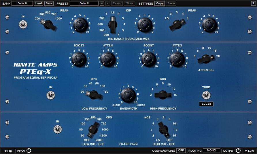 Ignite Amps - PTEq-X