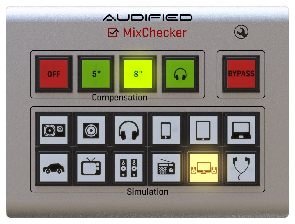Audified MIXCHECKER interfaccia