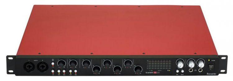 Focusrite 18i20 2nd generazione - scheda audio rack