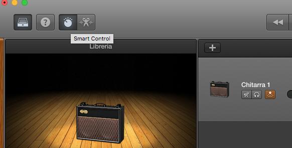 come-registrare-la-chitarra-su-garageband-smart-control