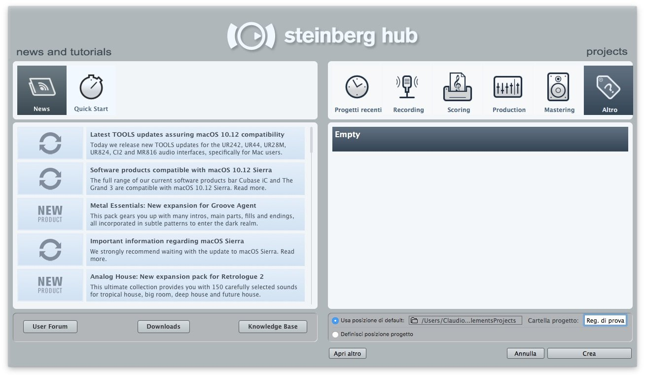 come-registrare-l-audio-con-cubase-8-guida-per-principianti-nuovo-progetto-2