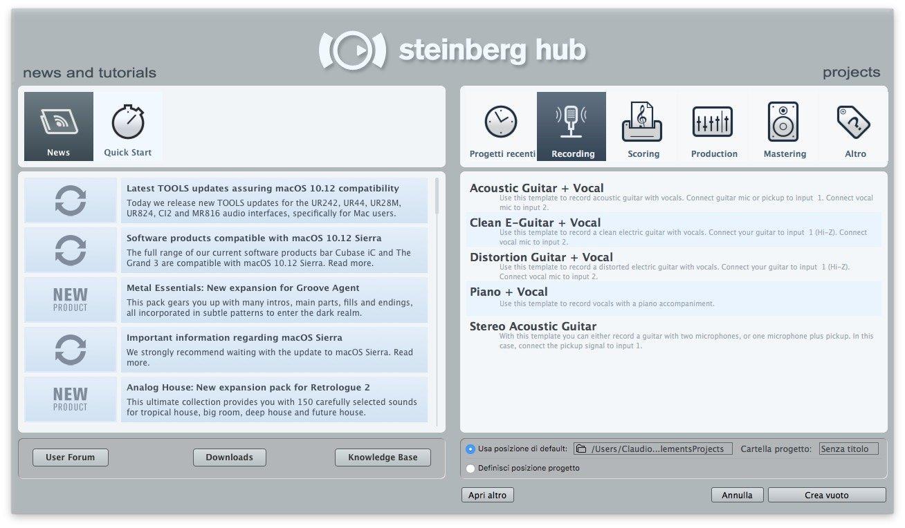 come-registrare-l-audio-con-cubase-8-guida-per-principianti-nuovo-progetto