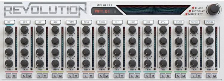 Wave Alchemy Revolution mixer