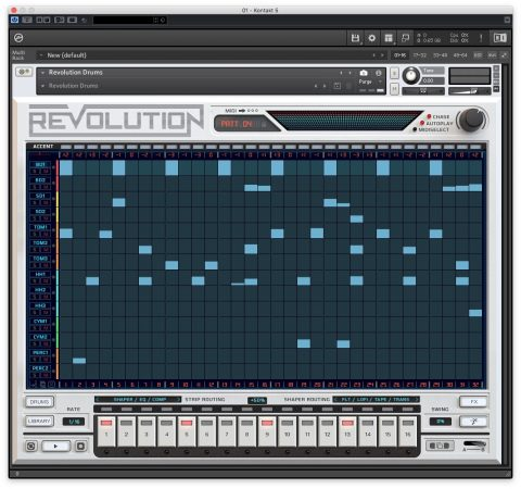 Wave Alchemy Revolution sequencer