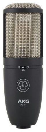 AKG P420 - Microfono a Condensatore a Diaframma Largo