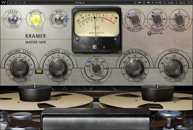 I Migliori Plugins Waves Audio per il Mastering - waves kramer-master-tape