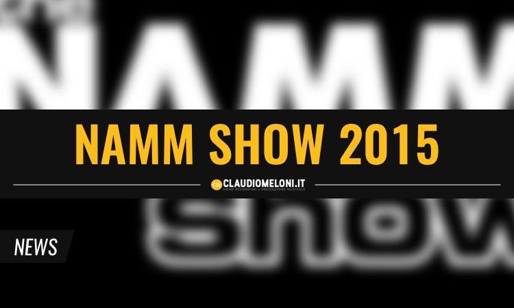 5 Interessanti novità dal NAMM Show 2015