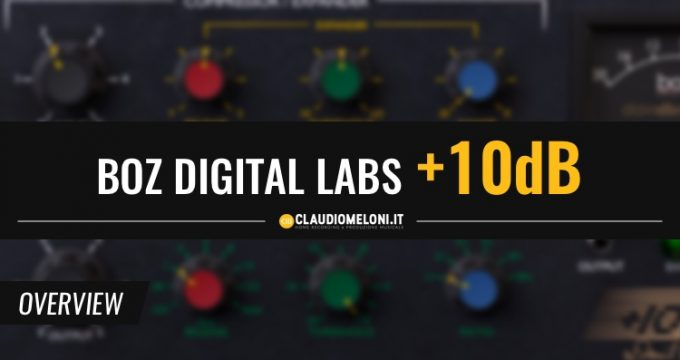 Boz Digital Labs +10dB - Compressore per Batteria e Voce