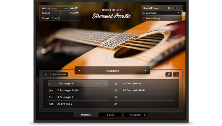 Native Instruments - Session Guitarist Strummed Acoustic
