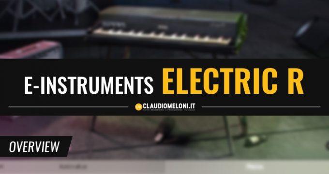 Session Keys Electric R - Il Fender Rhodes secondo e-Instruments
