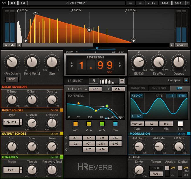 Waves Audio - H-reverb