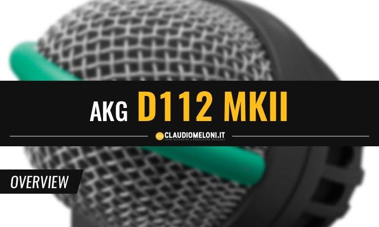 AKG D112 MKII - Microfono per Cassa Batteria