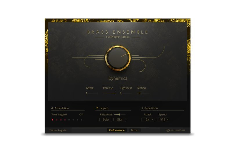 Symphony Series Brass Collection - Gli ottoni di Native Instruments 01