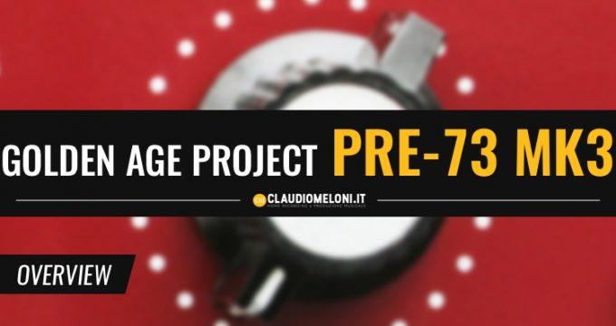 Golden Age Project Pre-73 MKIII - Preamp Microfonico e DI Box