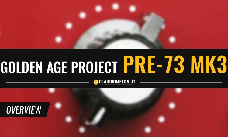 Golden Age Project Pre-73 MKIII - Preamp Microfonico e DI Box
