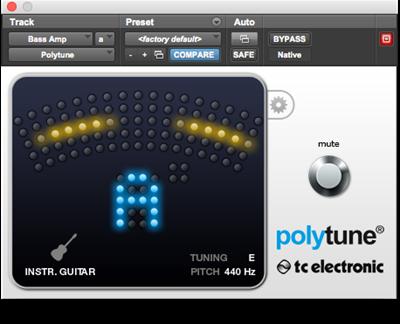 TC Electronic Polytune Plugin