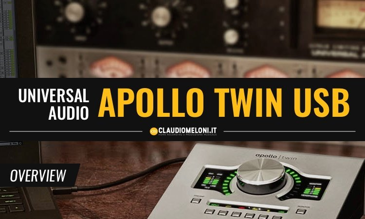 Apollo Twin USB - La migliore scheda audio per Windows