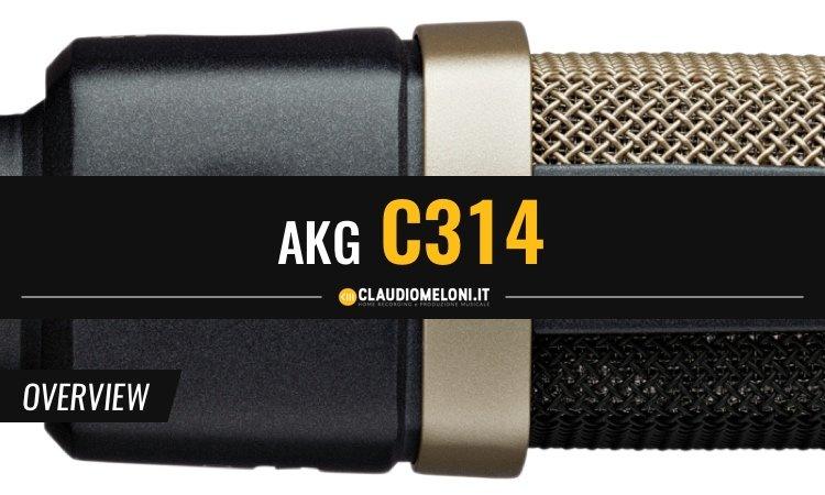 C314 - Il Nuovo Microfono tuttofare di AKG