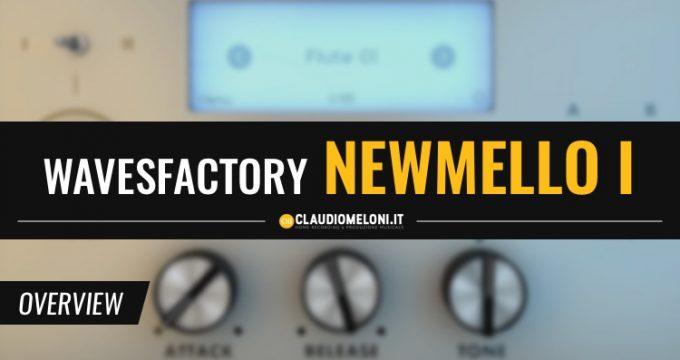 Mellotron di Wavesfactory - bello e super economico