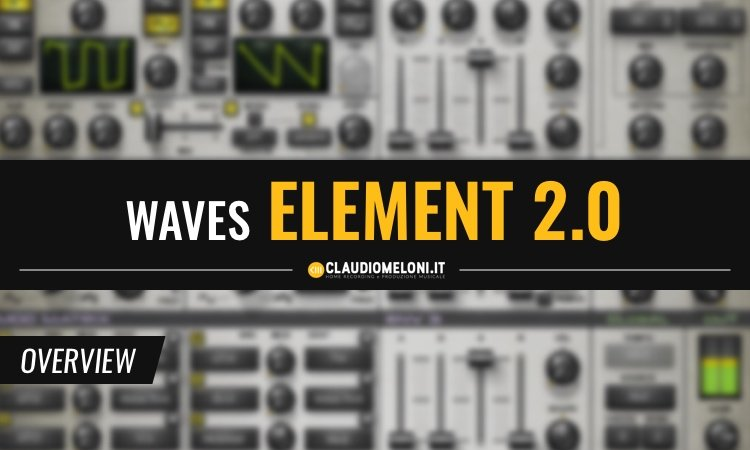 Waves Audio Element 2.0 - Virtual Analog Synth