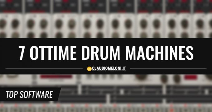 Drum Machines per Ableton Live e Logic Pro