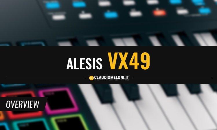 Alesis VX49 con VIP Software - Controller MIDI