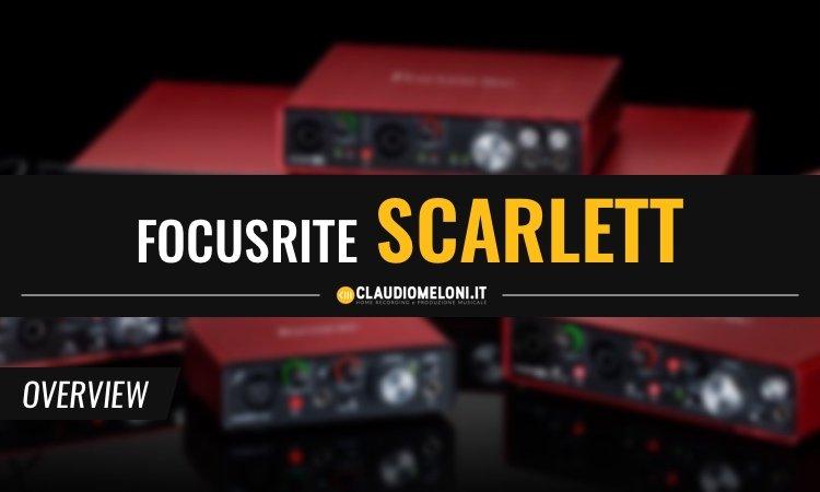 Focusrite Scarlett - la nuova generazione di Schede Audio USB
