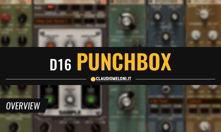 D16 - PunchBox - Crea il kick perfetto per i tuoi brani