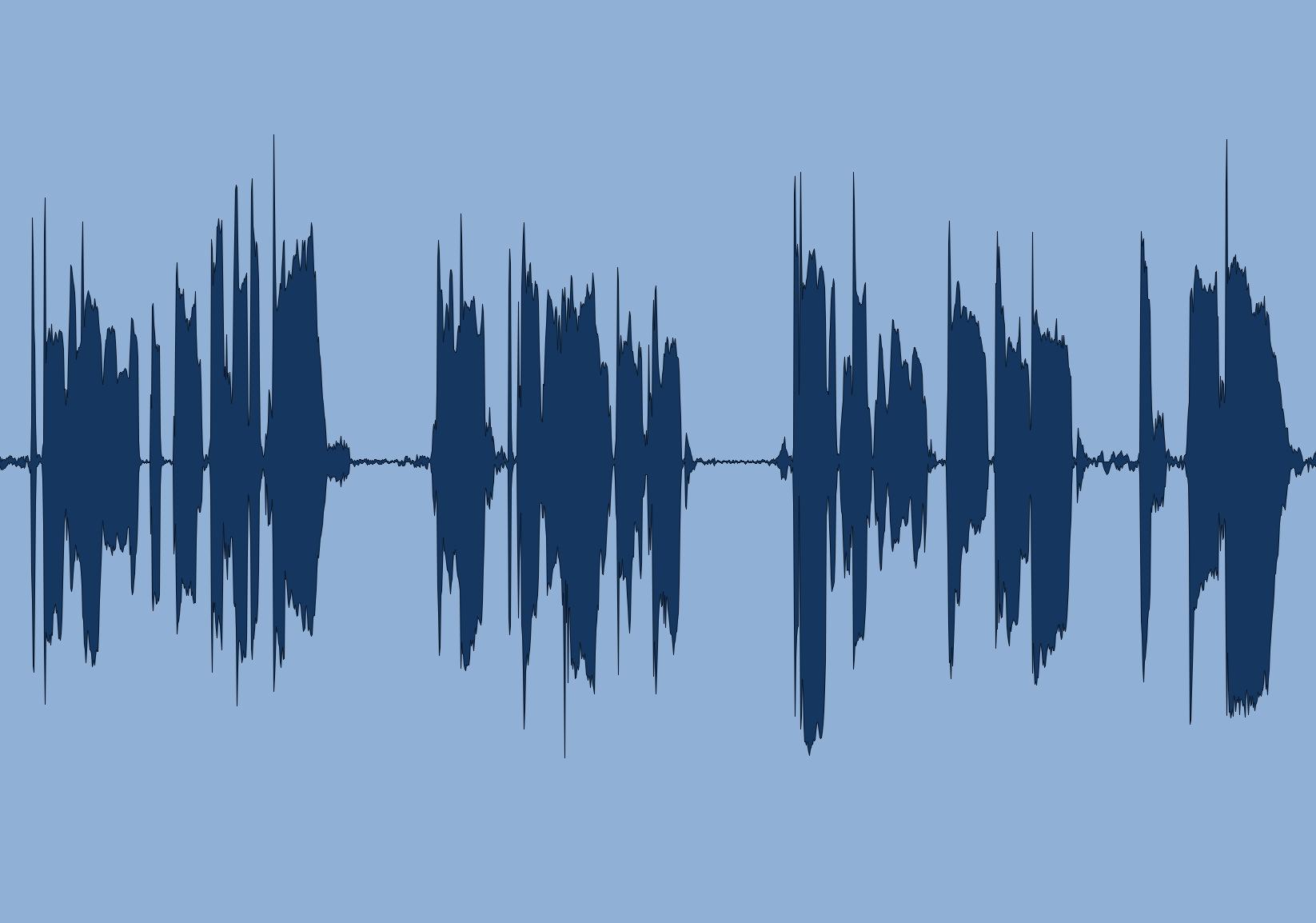 file audio dopo la compressione