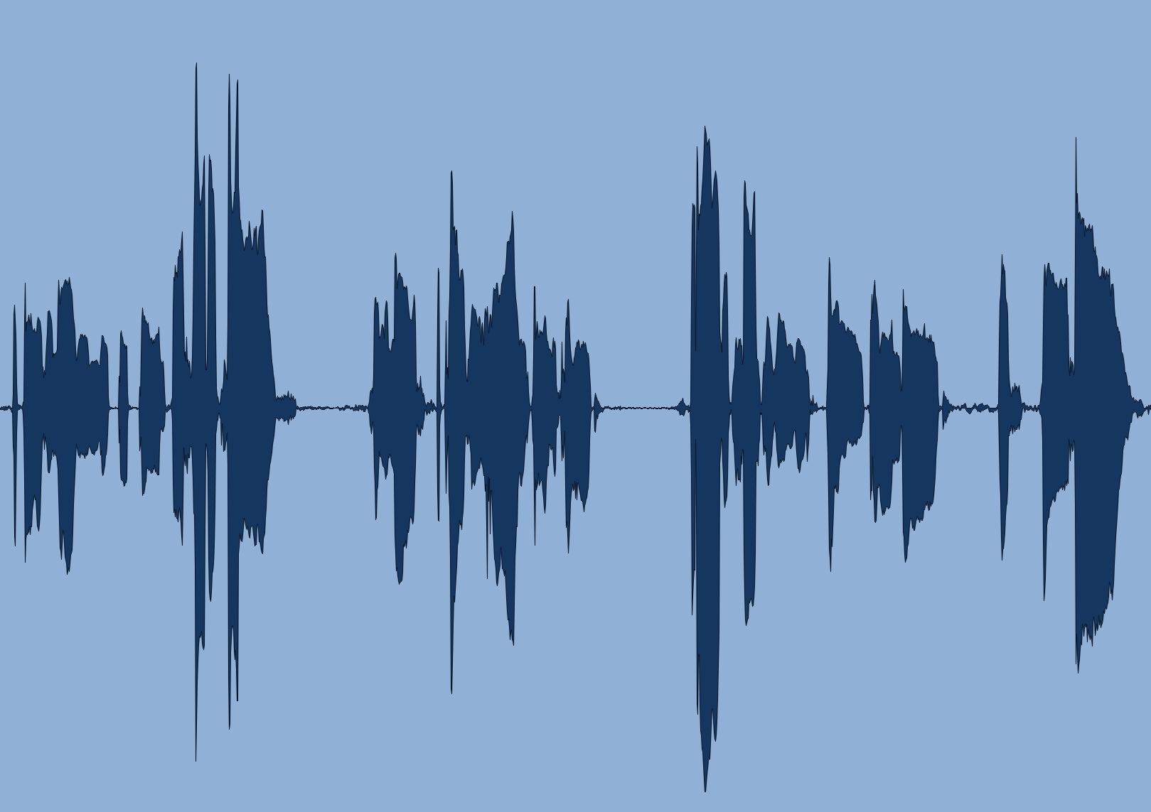 file audio prima della compressione