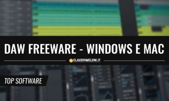 5 DAW freeware per Windows Mac