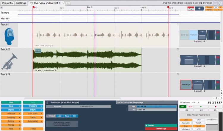 Tracktion 5