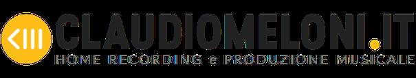 Claudio Meloni | Fonico, Formatore e Producer