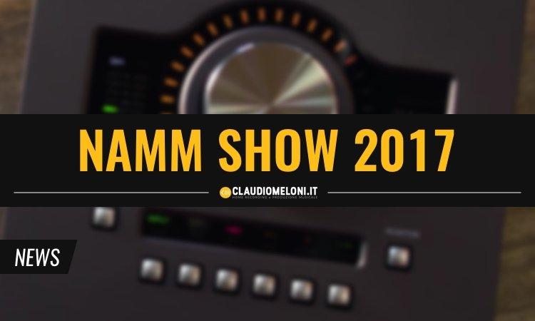 NAMM Show 2017 10 Novita per Home Recording e Produzione Musicale