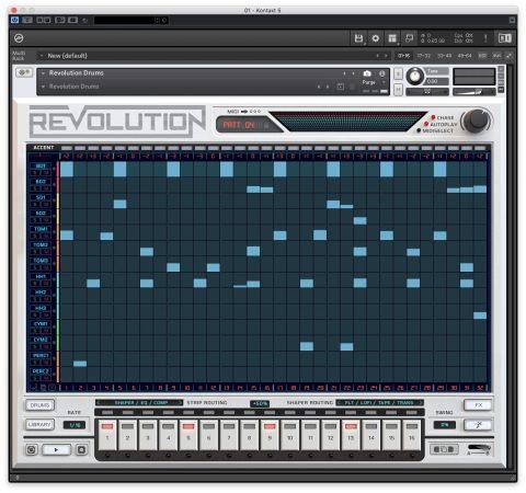 Wave Alchemy Revolution sequencer