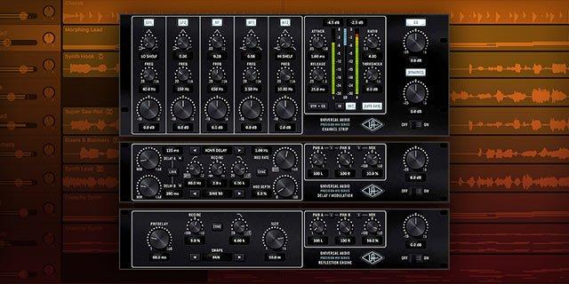 Universal Audio Apollo Twin MKII plugin inclusi - precision-mixrackcollection_1