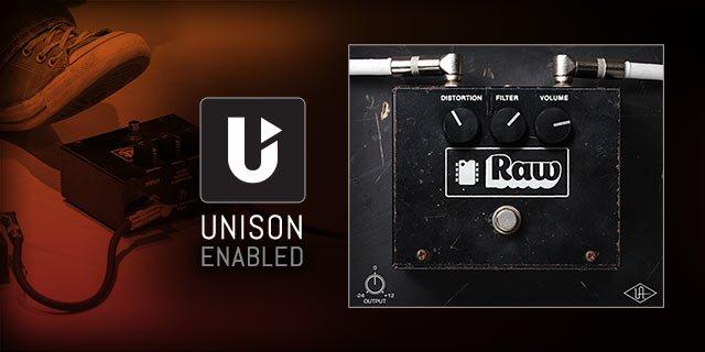 Universal Audio Apollo Twin MKII plugin inclusi - rawdistortion_1