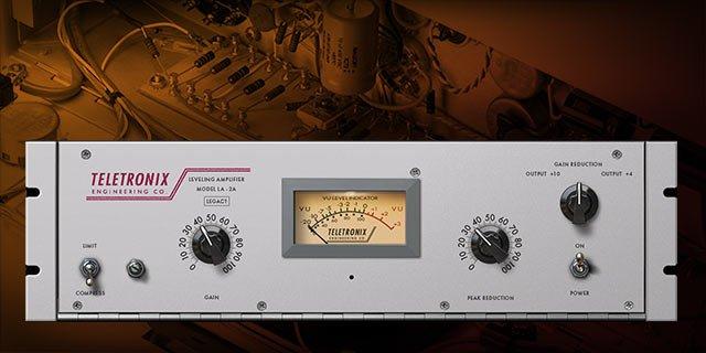 Universal Audio Apollo Twin MKII plugin inclusi - teletronixla2alegacy_1