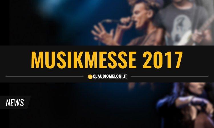 Speciale Musikmesse 2017 - Nuovi prodotti per Home Studio