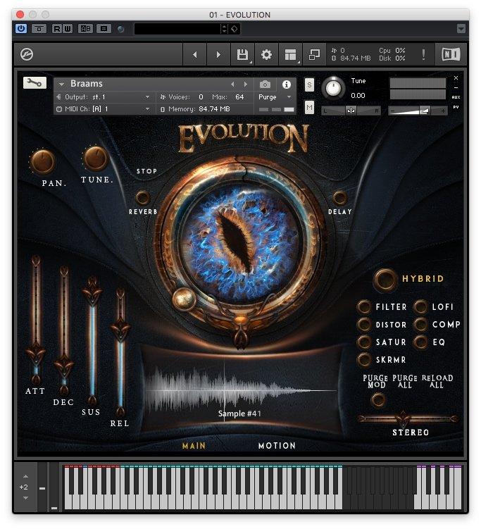 keepforest Evolution Dragon - Interfaccia