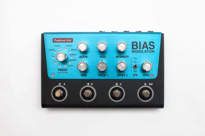 positive grid BIAS-Modulation
