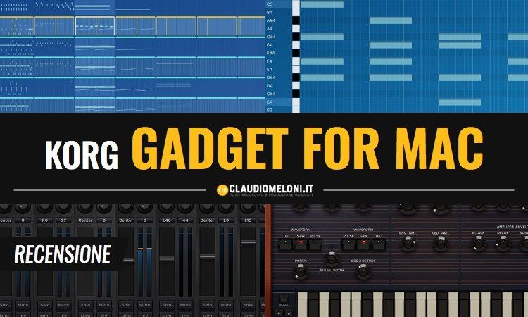 KORG Gadget for Mac Recensione