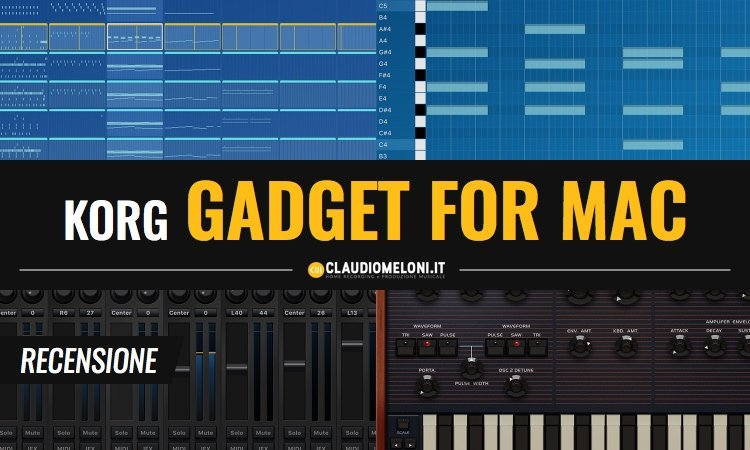 KORG Gadget for Mac Recensione