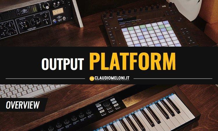 Output PLATFORM - Scrivania per Home Recording e per Producer