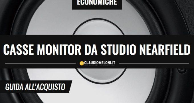 Casse monitor da studio Nearfield - economiche