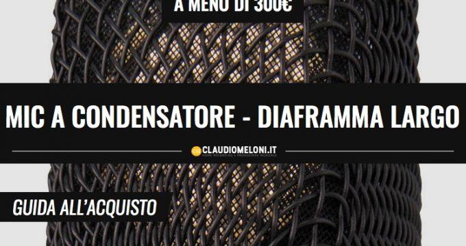 Microfono a condensatore a diaframma largo - a meno di 300 euro