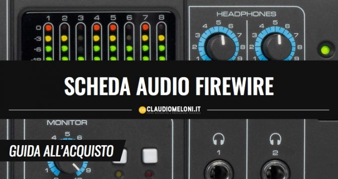 Scheda Audio Firewire