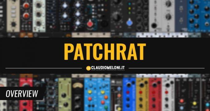 Con Patchrat Salvi e Richiami le Impostazioni Hardware del tuo Studio